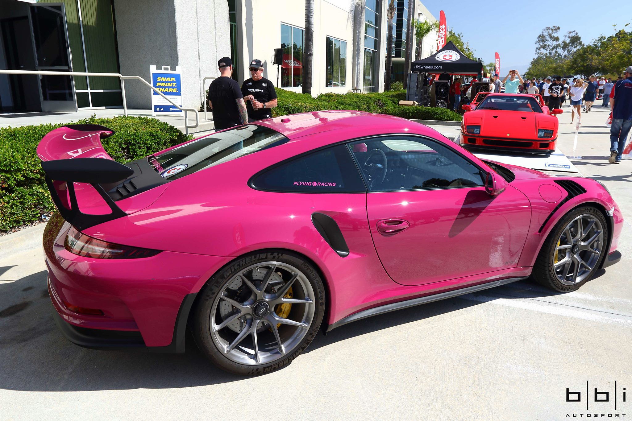 Ruby Star Porsche 911 Gt3 Rs On Display Supercar Report
