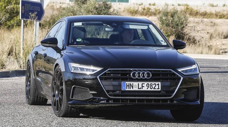 2019 Audi RS7 Test Mule