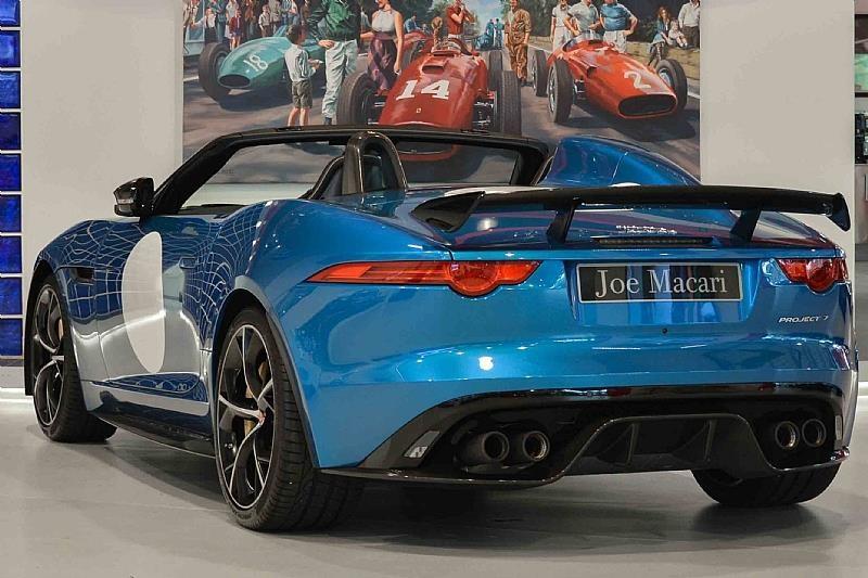 jaguar project 7 for sale in london supercar report. Black Bedroom Furniture Sets. Home Design Ideas