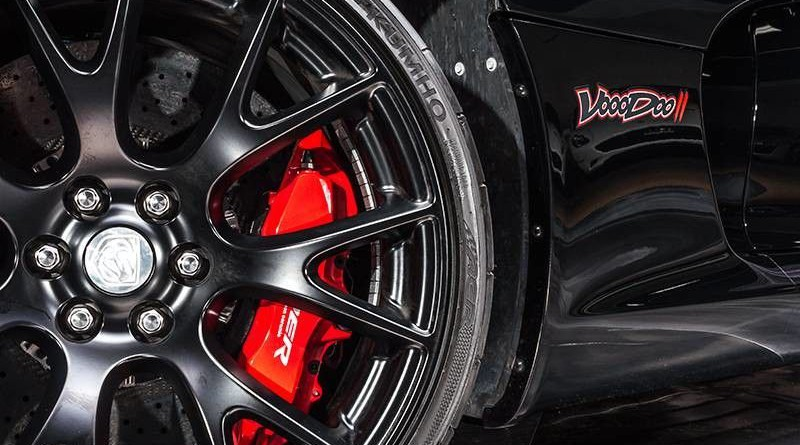 Dodge Viper ACR Voodoo II Edition Wheel and Tire