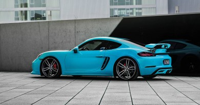 TechArt Porsche 718 Boxster and Cayman Package