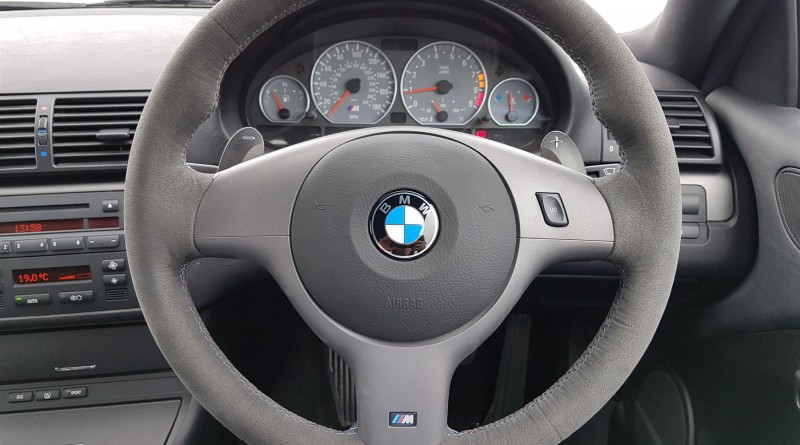 2004 BMW M3 CSL Steering Wheel