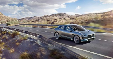 The New Jaguar I-PACE Concept Electric SUV