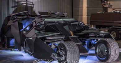 Carbon Fiber Tumbler Batmobile Replica For Sale