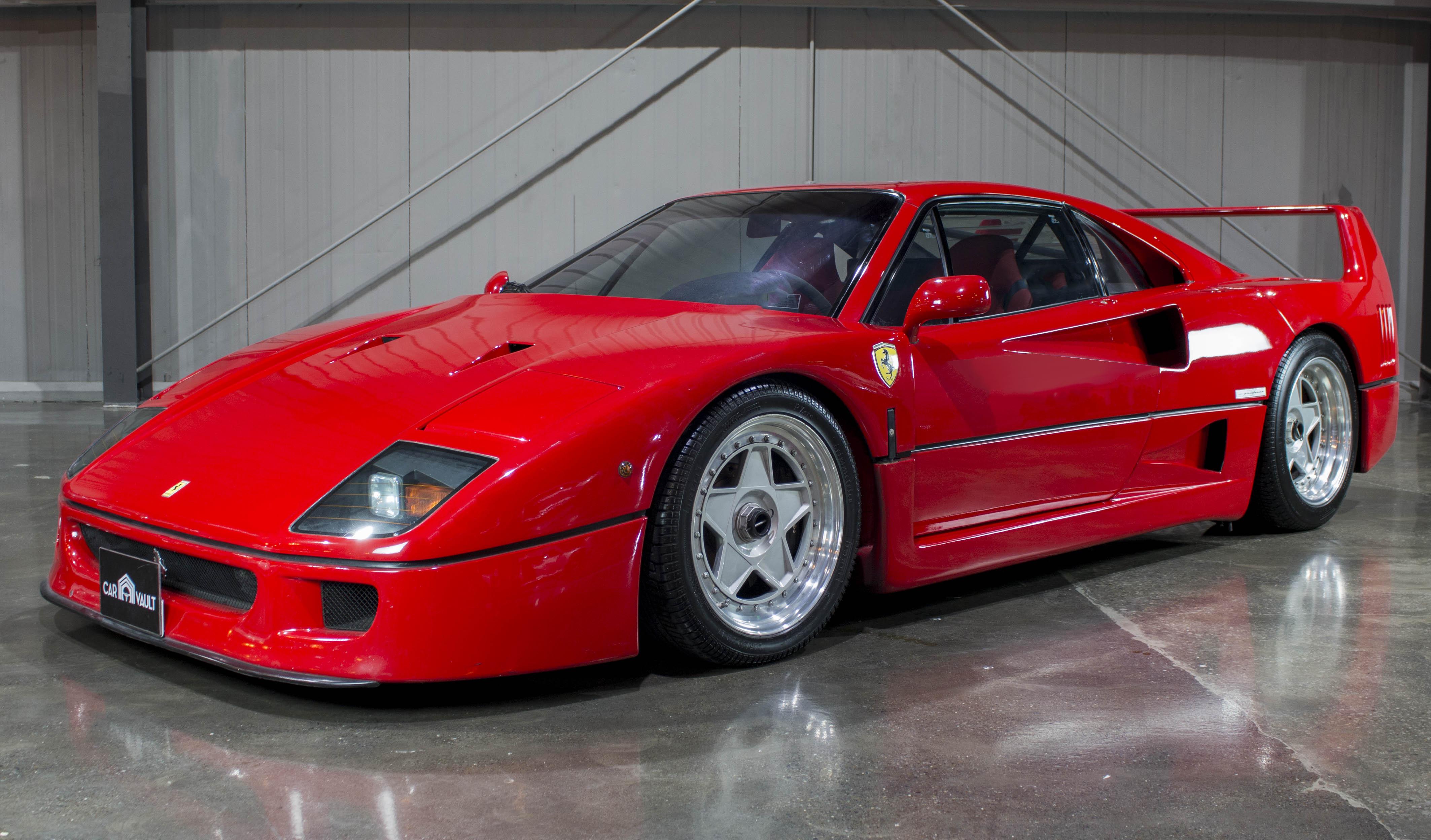 1991 Ferrari F40 For Sale In Dubai Supercar Report