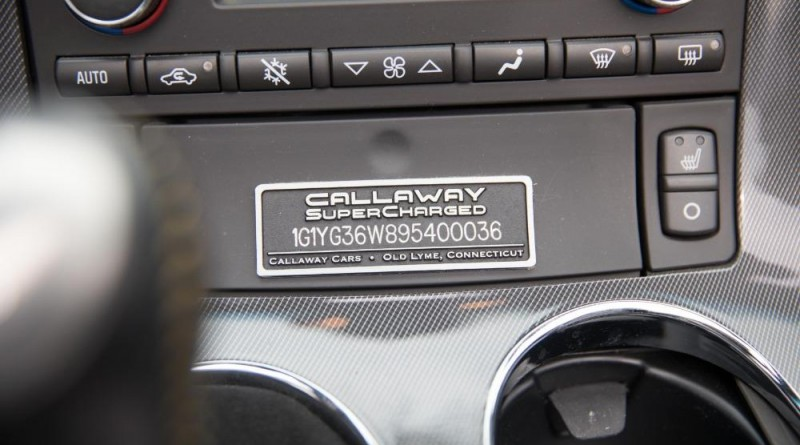 Corvette Callaway GT1 Championship Edition Badge