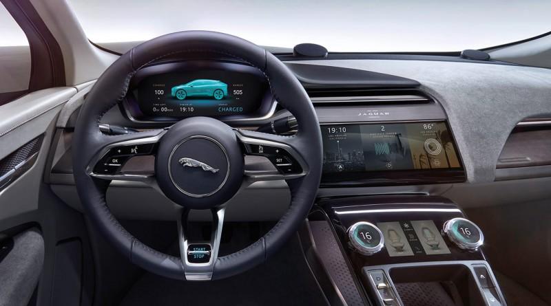 Jaguar I‑PACE Concept Interior