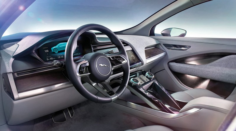 Jaguar I‑PACE Concept Dashboard