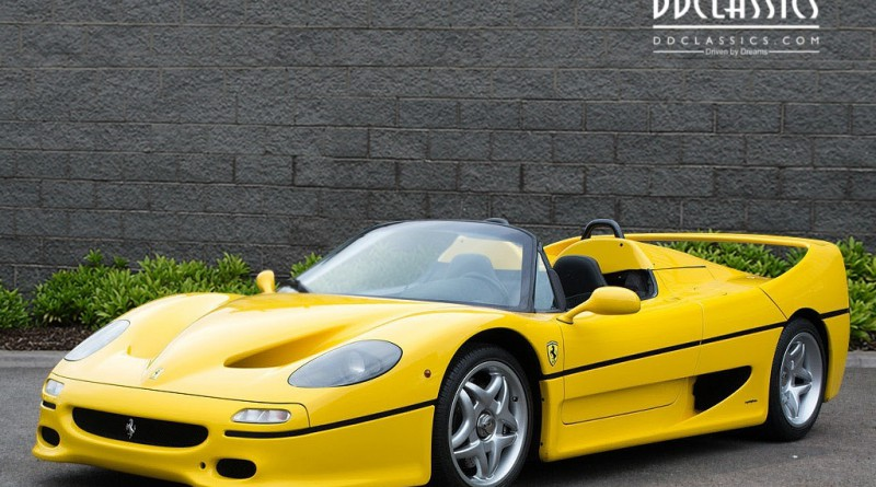 1997 Giallo Modena Ferrari F50 For Sale