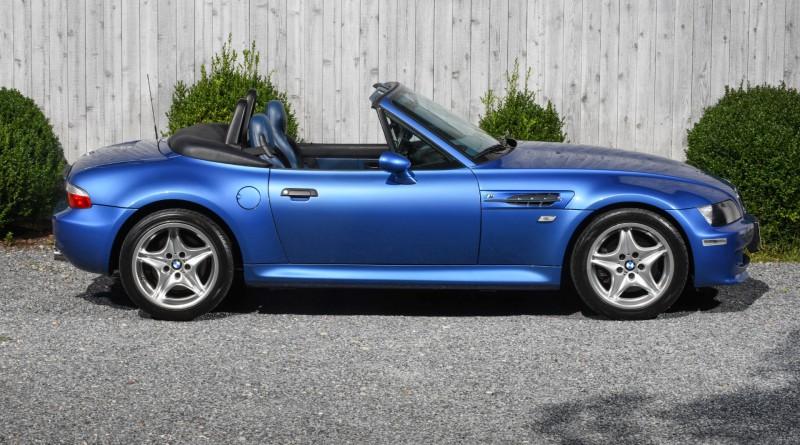 Estoril Blue BMW M Roadster For Sale