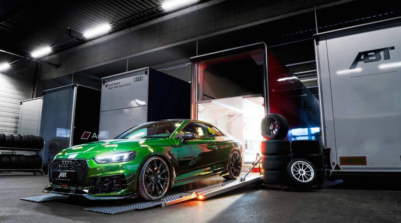 Sonoma Green ABT Audi RS5-R
