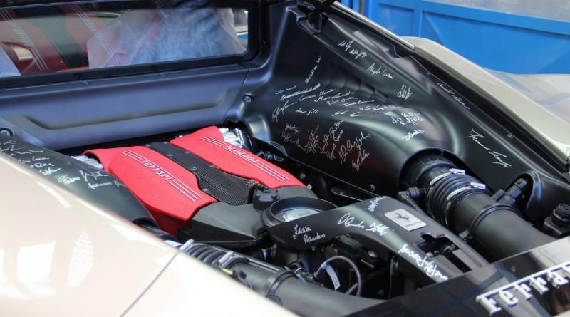 Ferrari 488 GTB Engine