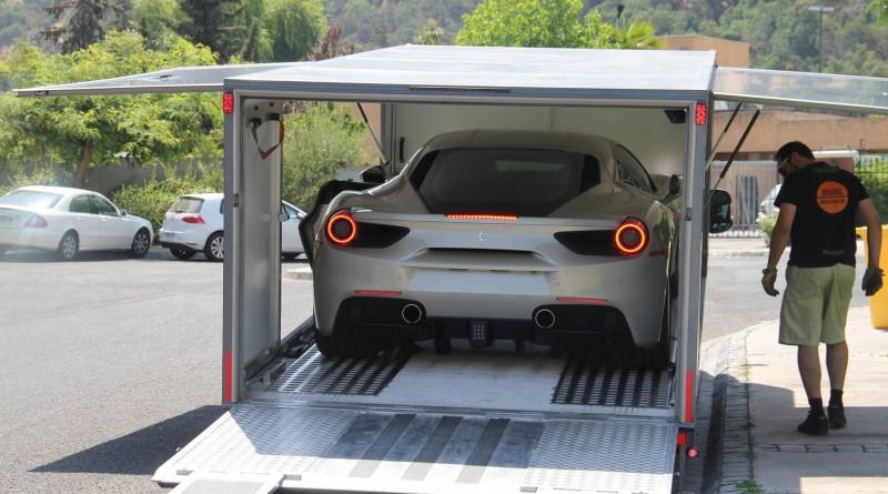 Ferrari 488 GTB Delivery