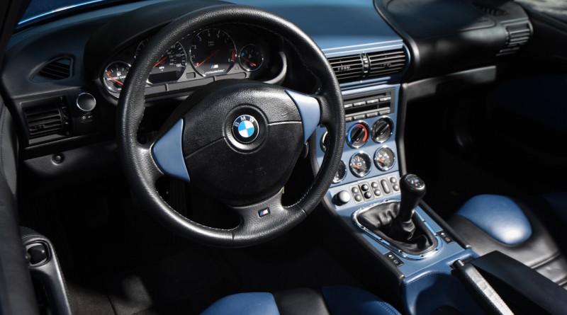 BMW M Roadster Interior