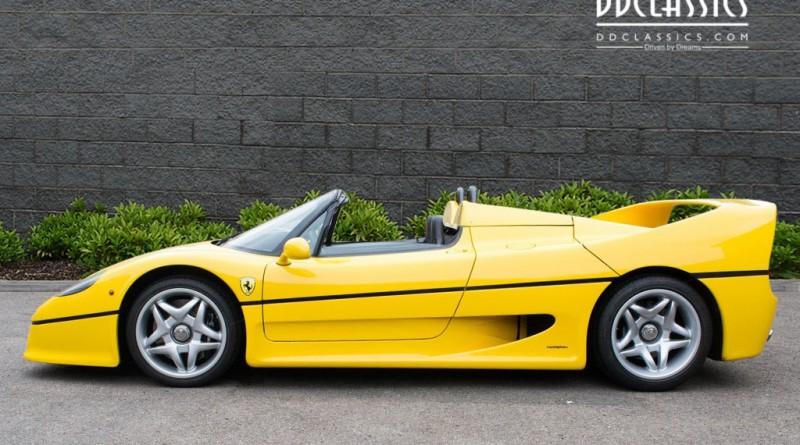 Giallo Modena Ferrari F50 For Sale