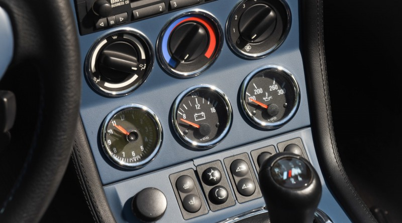 BMW M Roadster Gauges