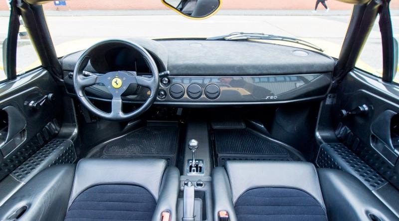 Ferrari F50 Interior