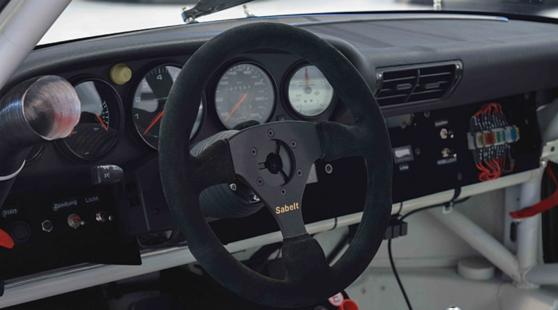 Porsche GT2 Race Car Dashboard