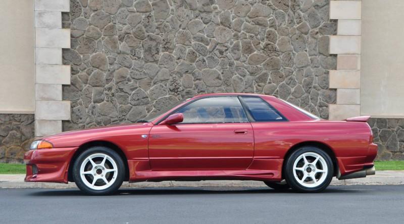 1992 Nissan Skyline Red