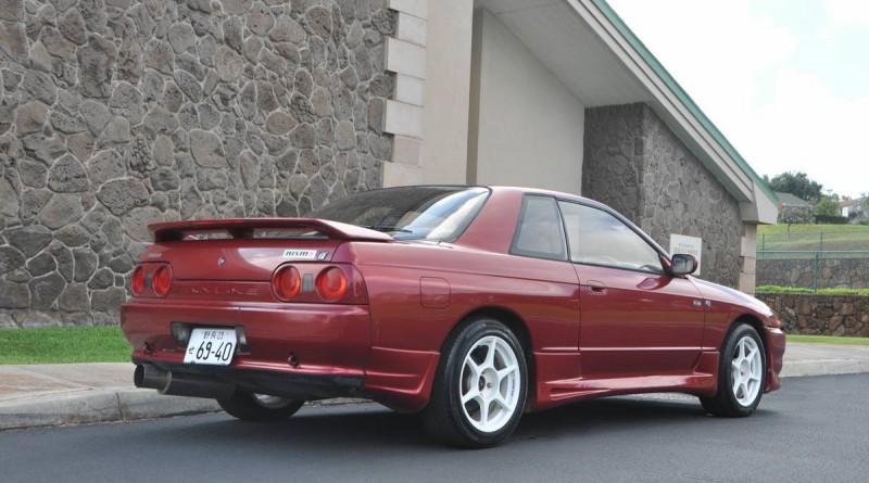 1992 Nissan Skyline Rear