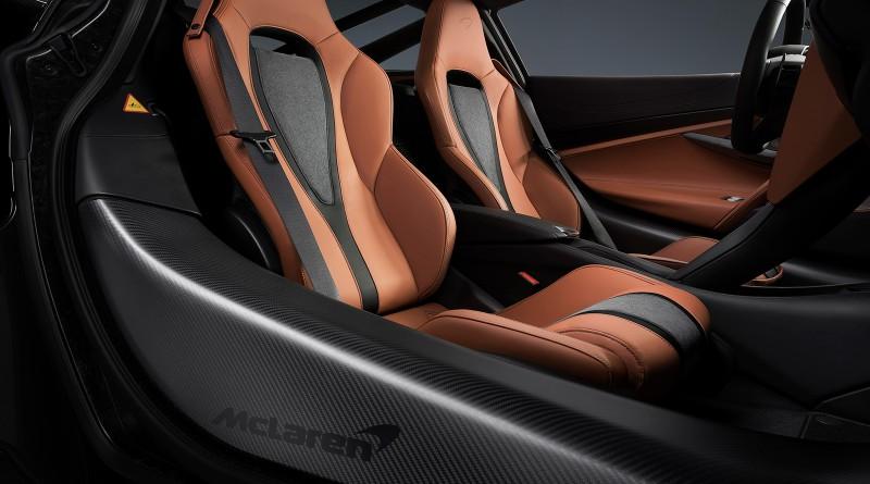 McLaren 720S Saddle Seats