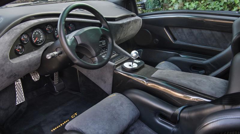 Inside a Lamborghini Diablo GT