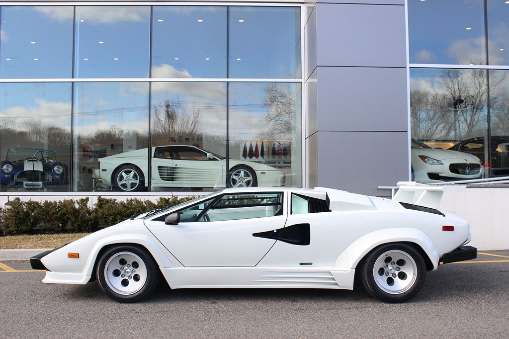 Incredible White Lamborghini Countach For Sale Supercar Report