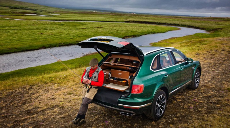 Bentley Bentayga Mulliner Fly Fishing