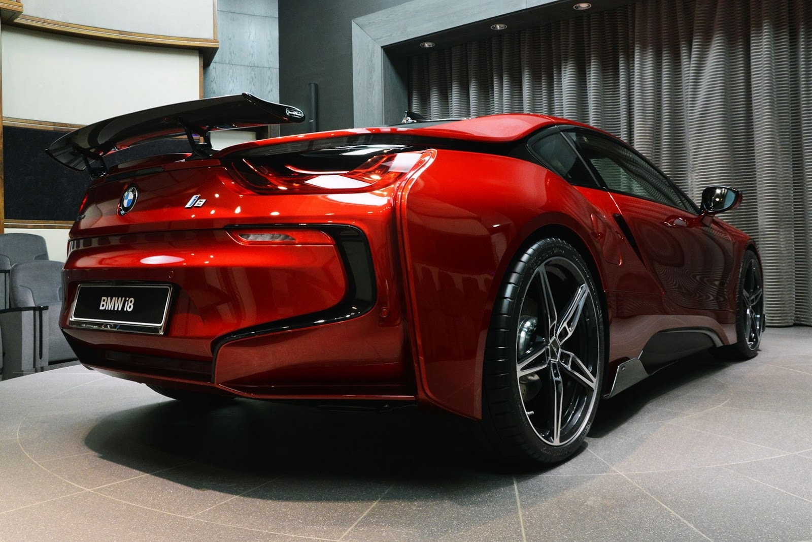 Lava Red Bmw I8 Supercar Report