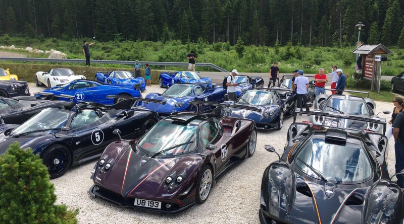 Pagani Event in Italy