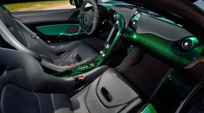 Green Carbon Fiber McLaren P1
