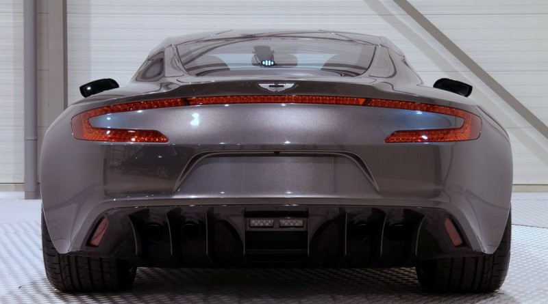 Aston Martin One-77 Rear