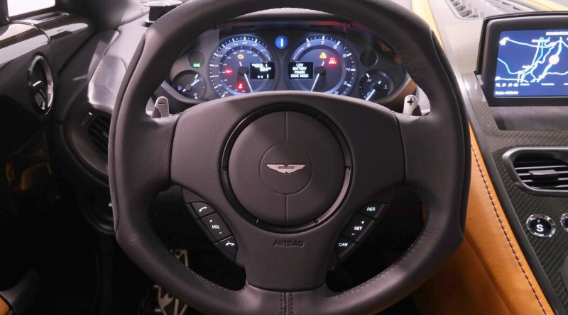 Aston Martin One-77 Steering Wheel