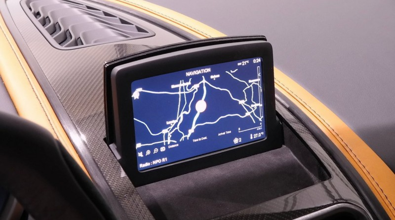 Aston Martin One-77 Navigation Screen