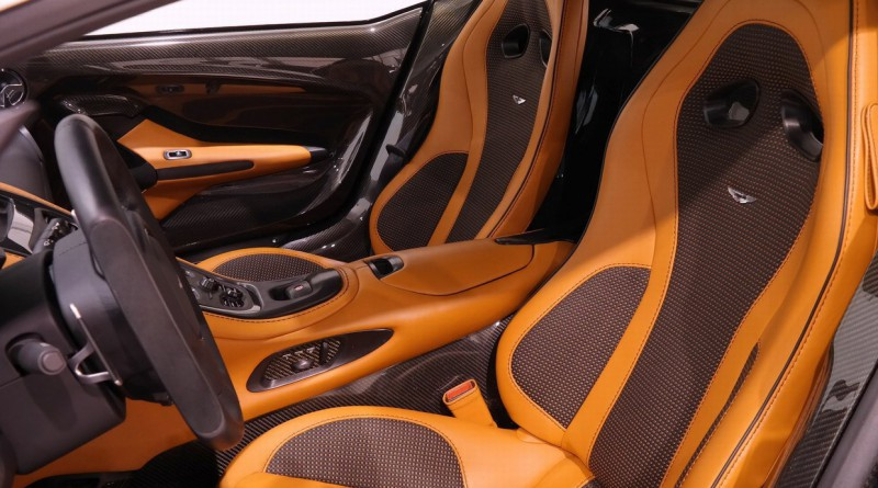 Aston Martin One-77 Seats
