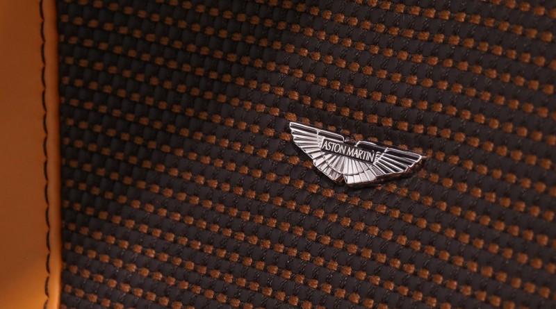 Aston Martin One-77 Seat Logo