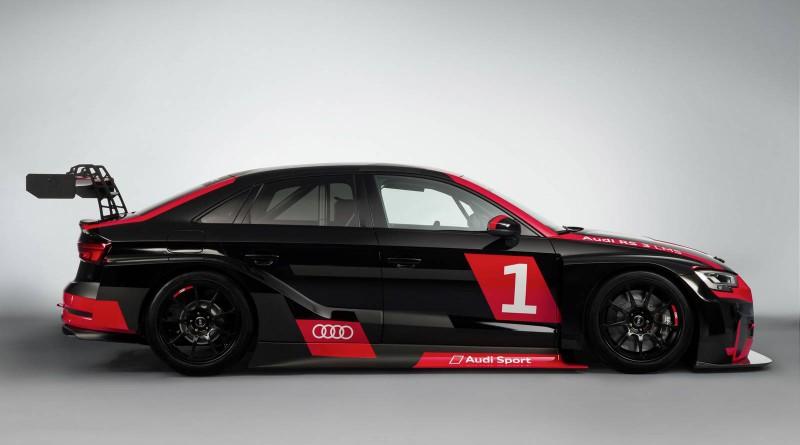 2017 Audi RS3 LMS Side