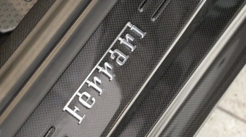 Ferrari F12 TDF Door Sill