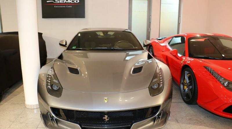 Grigio Titanio Ferrari F12 TDF Front