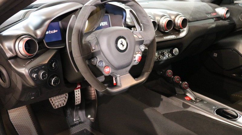 Ferrari F12 TDF Steering Wheel