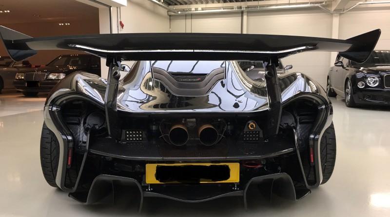 McLaren P1 GTR Back