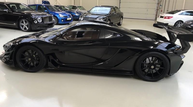 Black McLaren P1 GTR
