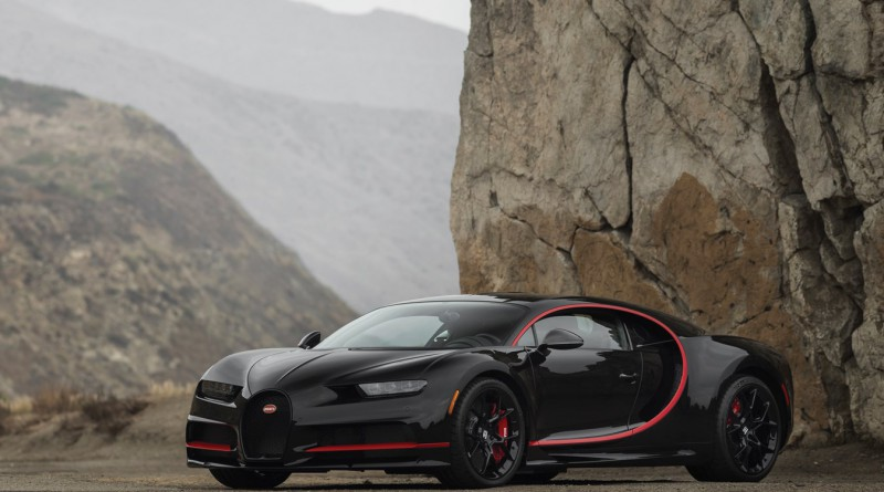 Black/Red Bugatti Chiron