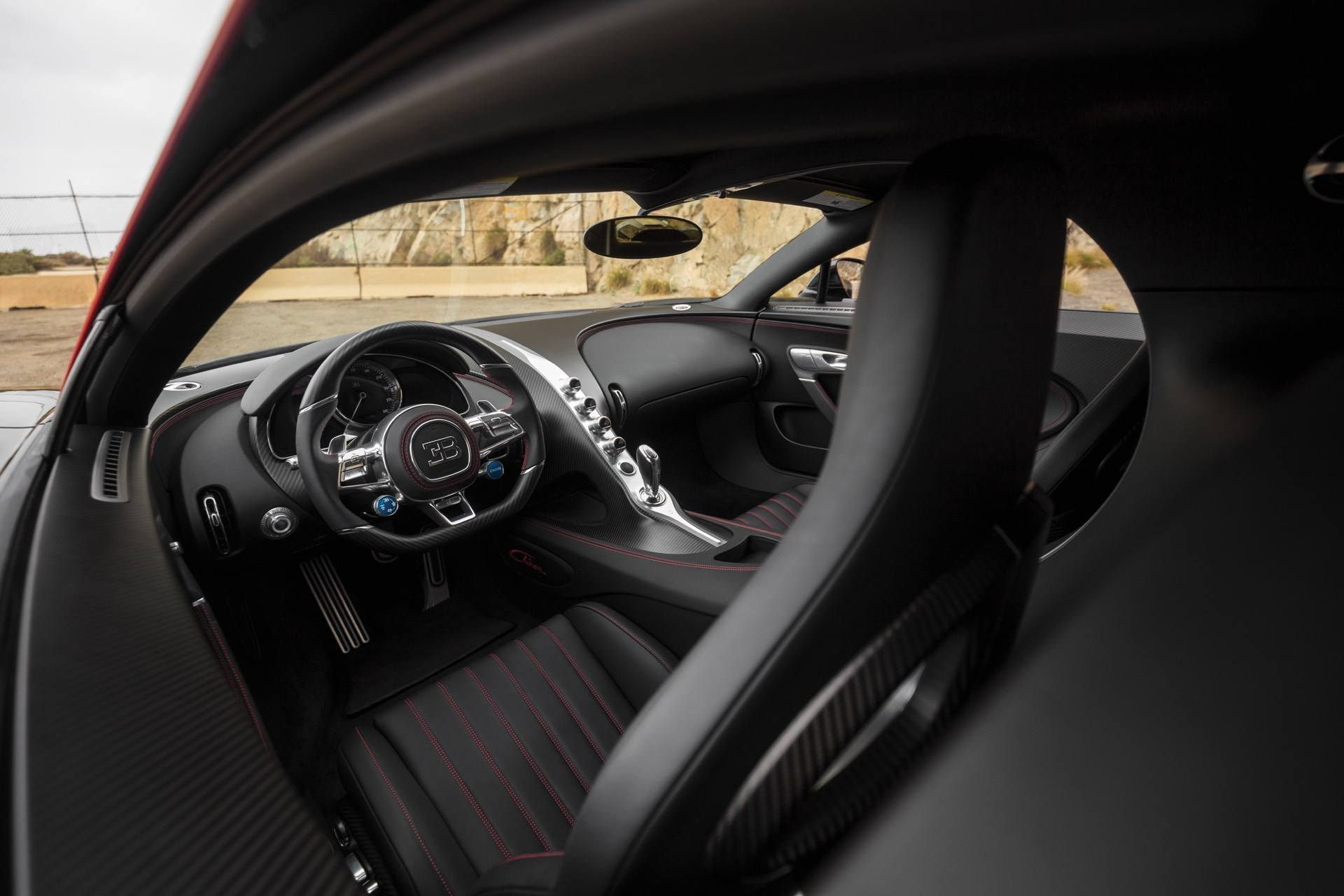 first us-spec bugatti chiron heads to auction   supercar report