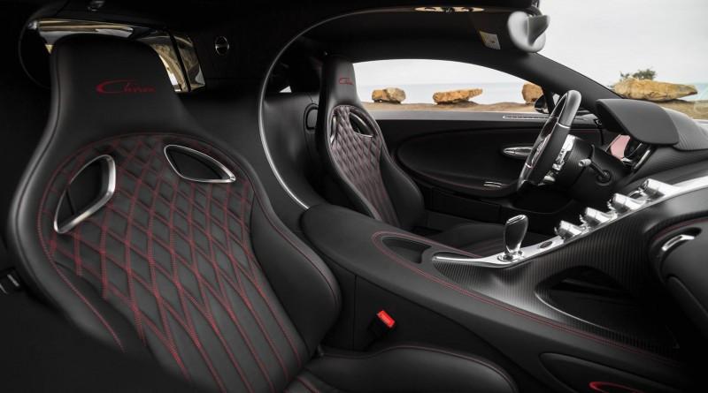 Bugatti Chiron Seats