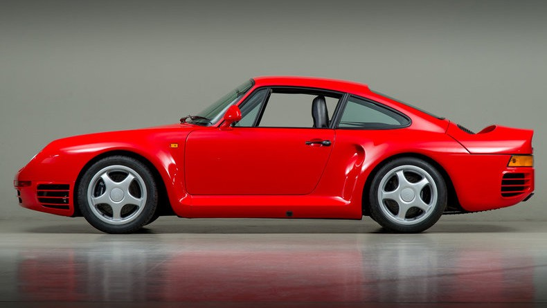 Guards Red 1988 Porsche 959 Sport