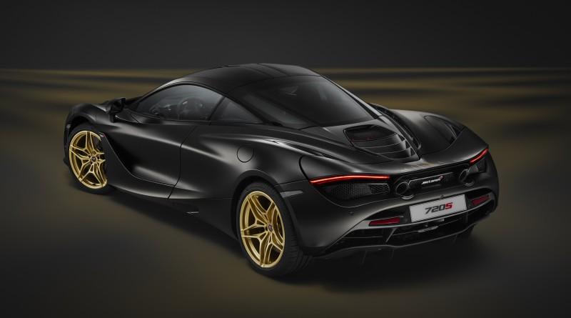 McLaren 720S MSO Black and Gold