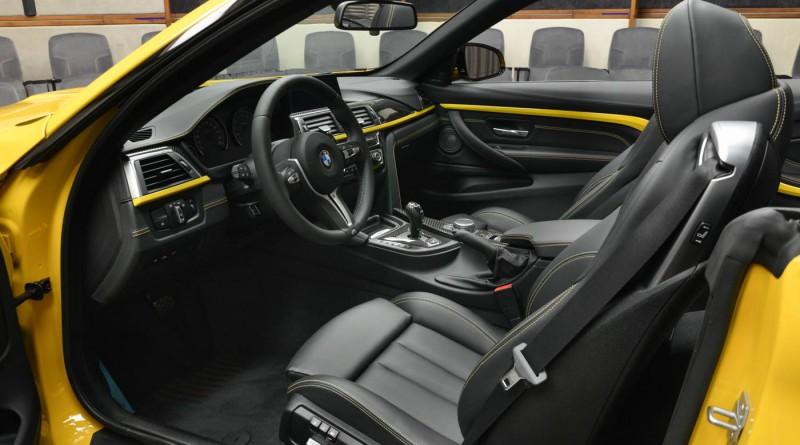 AC Schnitzer BMW M4 Interior