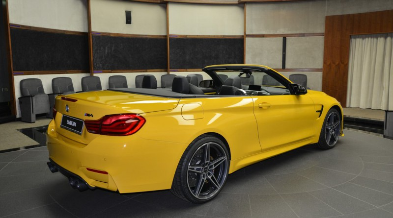 Speed Yellow AC Schnitzer BMW M4 Convertible