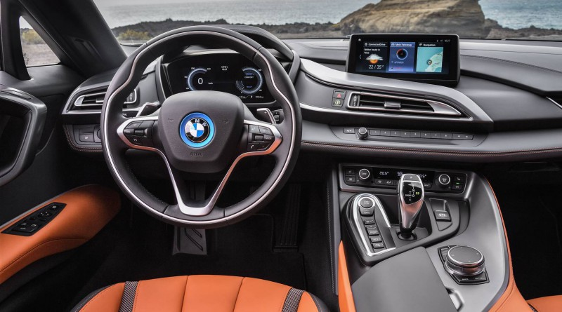 BMW i8 Roadster Interior